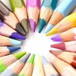 Colored Pencils - The Pacific Northwest Coloring Book
