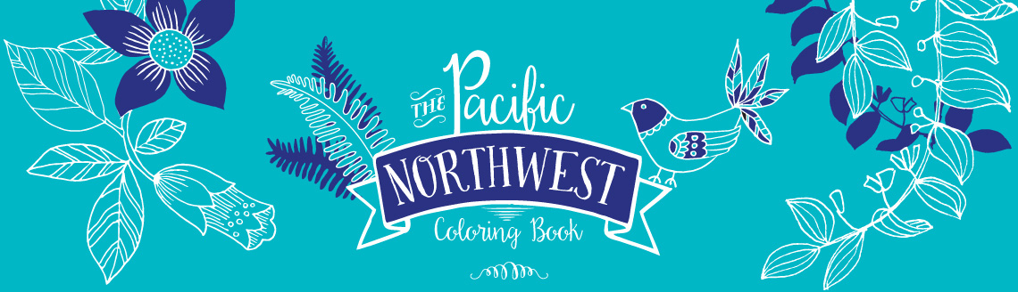 where to buy pacific northwest coloring book - Where To Buy Coloring Books